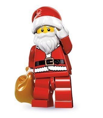 Lego Minifigures Series 8 - Santa by Toy
