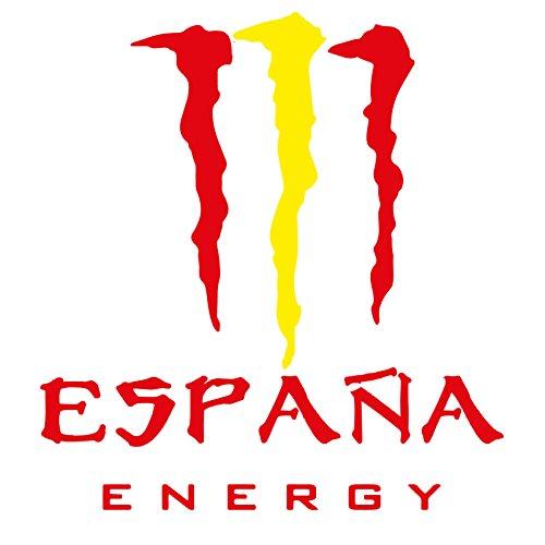 Custom Vinyl Pegatina España Energy (10,5x10cm)