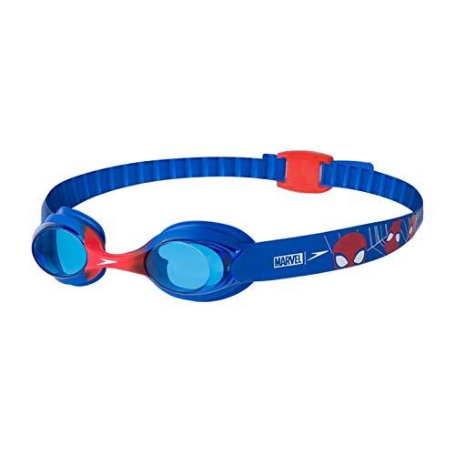 Speedo Illusion Disney, Goggle Unisex Adulto, Neon/LavaRosso/Blu, One Size