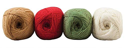 Herrschners Worsted 8 Holiday Colors Yarn Pack