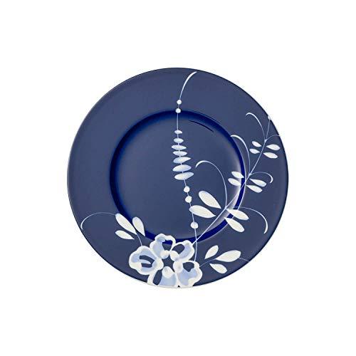 Villeroy & Boch Vieux Luxembourg Brindille Assiette petit-déjeuner bleue, 22 cm, Porcelaine Premium, Blanc/Bleu