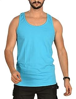 Hero Basic Scoop-Neck Sleeveless Solid Undershirt for Men