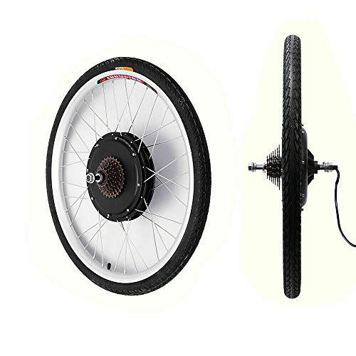 Kit de conversión para bicicleta eléctrica de 28 pulgadas con motor y controlador de 36 V y 350 W