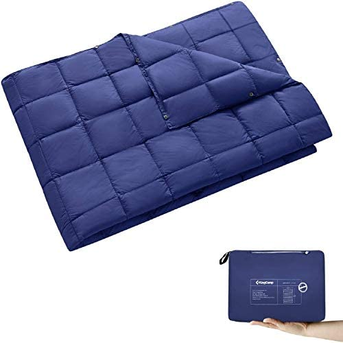 KingCamp Packable Lightweight Travel Down Alternative Warm Camping Blanket Compact Waterproof product image
