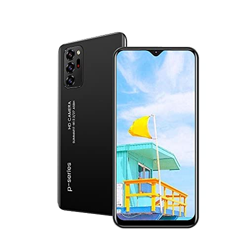 Unlocked Cell Phones,aderroo R4,Android Smartphone ,6.53 inch IPS Full-Screen, 3GWCDMA: 850/2100/MHZ SIM Card Band, 1GB RAM 16GB ROM, 2MP+5MP, 2800mAh ,Unlocked Phones (Black)