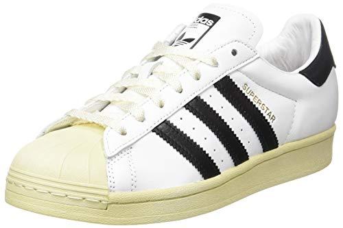 adidas Superstar, Scarpe da Ginnastica Uomo, Ftwr White/Core Black/Blue, 42 2/3 EU