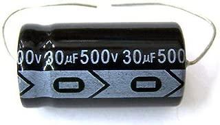 MIEC Qty 6 30UF 500V New Axial Electrolytic Capacitors