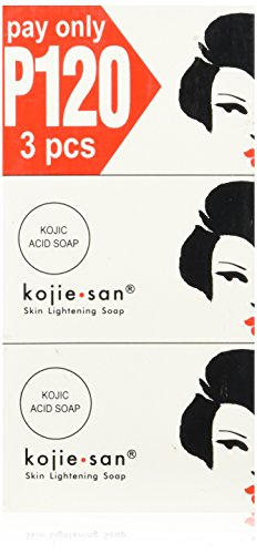 KOJIE SAN SOAP, ALL VARIANTS, (SKIN LIGHTENING SOAP 3X100GRAMS) by...