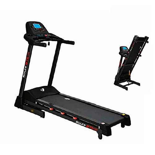 Get Fit, Tapis Roulant Route 875, 3,5Hp, 22km/h, Richiudibile, Home Fitness