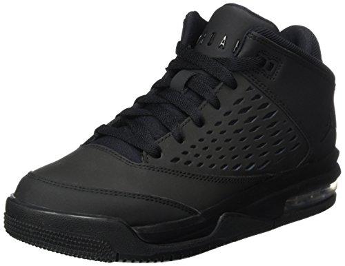 Nike Nike Mädchen Jordan Flight Origin 4 Bg Basketballschuhe, Schwarz (Black/Black/Black), 36.5 EU