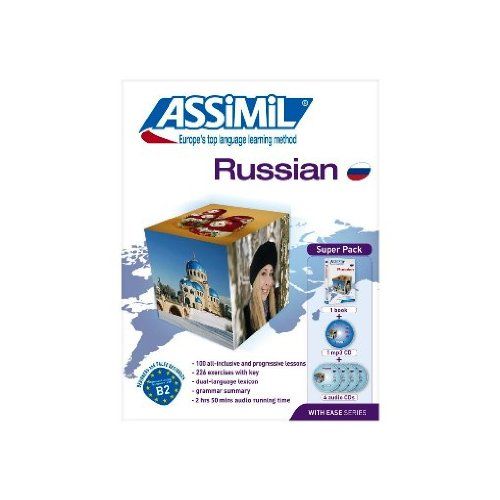 Superpack Learn Russian for English speakers-book plus 4 CD's plus 1 CD MP3 (Russian Edition)