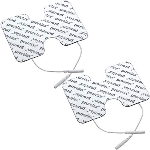 "prorelax Elektroden-Pads für ""prorelax Tens + Ems Duo"" in Schmetterlingsform"