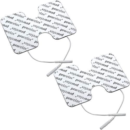 "prorelax Elektroden-Pads für \""prorelax Tens + Ems Duo"" in Schmetterlingsform"