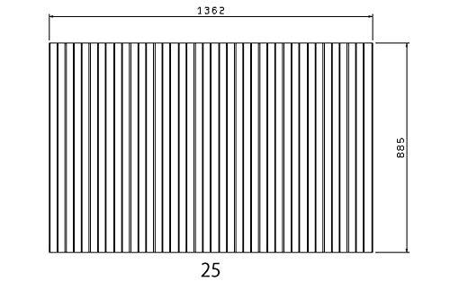 お風呂のふた トクラス (旧ヤマハ) 新25【新品番】HVH47930 巻きフタ ヤマハシステムバス用 風呂ふた 巻きふた 【寸法】W1362mm×D885mm(旧品番:GVH47930)