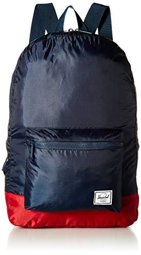 Herschel supply Co. - Zaino pieghevole, blu navy/rosso. (Blu) - 10614-01410-OS
