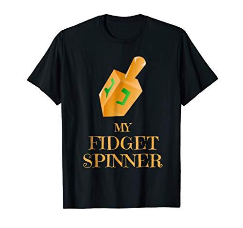 Funny Hanukkah Shirt - Fidget Spinner Dreidel T-Shirt