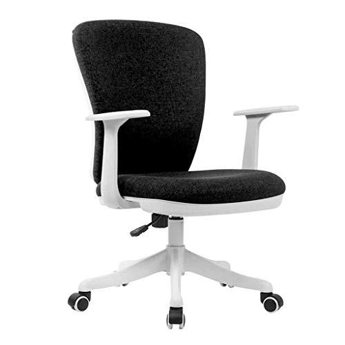 Équipement quotidien Chaise d'ordinateur Belle chaise d'ordinateur adaptée aux chaises pour hommes Chaise de femme Chaise d'étude d'écriture d'étudiant Chaise de bureau Chaise de conférence Brown 6