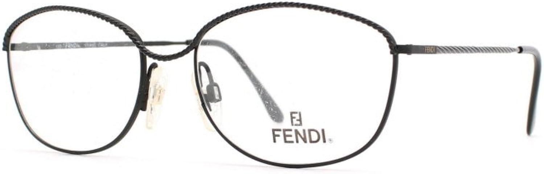 Fendi 12 MIDNIGHT Black Authentic Women Vintage Eyeglasses Frame