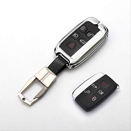 KaiKai Key caseZinc Legierung Auto-Schlüsselkasten for Land Rover Range Rover Sport Freelander 2 Jaguar Xe Xj XJL Xf C-x16 V12 Gitarre F X Typ type3