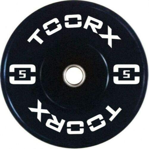 Toorx n° 2 Pezzi Disco Olimpico Bumper Training da 5 kg - Foro 50 mm