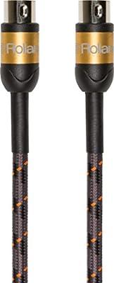 Roland Gold Series Premium MIDI cable, 3 ft./1 m - RMIDI-G3