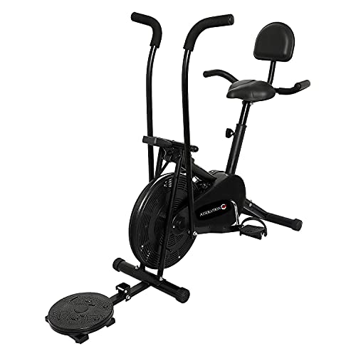 A1 Solution    Air Bike    Dual Moving Handles    Exercise Home Gym Cycle    Workout    Cardio   ...