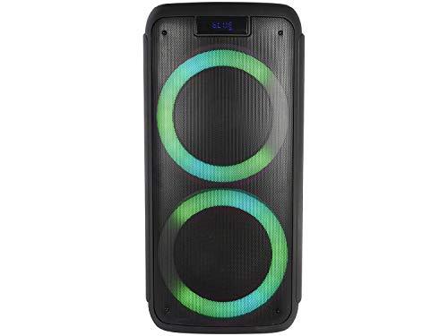 Caixa de Som Pulse Pulsebox Efeito de LED Bluetooth AUX/USB 1000W - SP359, Preto
