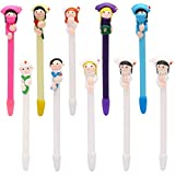 Buytra Cute Doctor Nurse Pens Novelty Ballpoint Pens Polymer Clay Pens 0.5mm Tip
