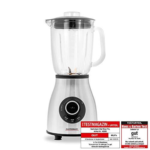 Gastroback Vital Mixer Pro frullatore con caraffa in vetro (1.75 L - 1.000 W)