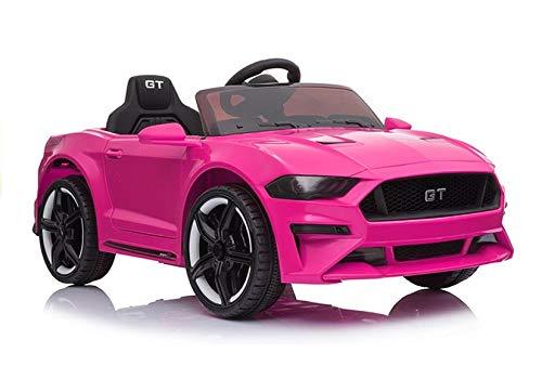 Elektro Kinderauto Elektrisch Ride On Kinderfahrzeug Elektroauto Fernbedienung - Mustang BH-718A - Rosa