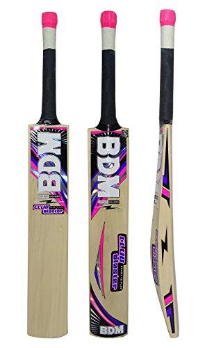 BDM Club-Blaster Erwachsen-Größen Cricket-Schläger Mit Carry Case Kaschmir Willow Wood - Gewicht wählen