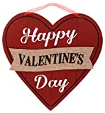 Happy Valentine's Day Wall Plaque with Vday...