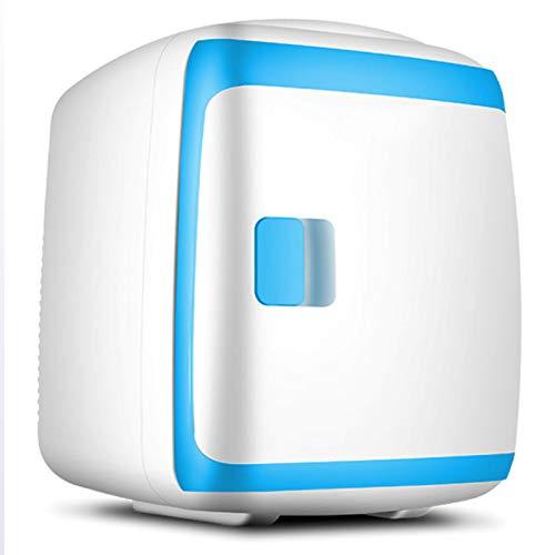 Minibar Mini-Kühlschrank, Leiser Betrieb Minibar Mit Kühl- Und Heizfunktion Für Auto Und Haushalt, Thermo-Elektrischer Mini-Kühlschrank, 220V AC / 12V DC (13 L),2