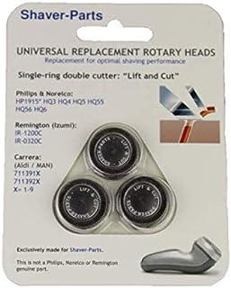 Y elevación CUT HQ4 HQ5 HQ55 HQ56, alternativa de nueva de cabezales de afeitado para UA. Philips/afeitadora Philishave