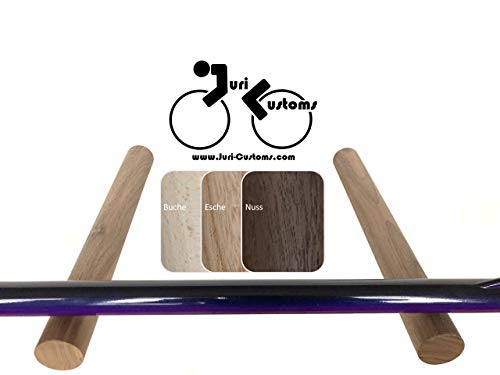 Design Fahrradzubehör | Fahrradhalter Wand | Fahrrad Wandhalterung | Rennrad Halter | BIKE HOOKS | Holz | Rundstäbe | Buche, Esche, Nuss