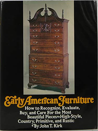 Early American Furniture: How to Recognize, Evaluate, Buy, and Care For the Most Beautiful Pieces--High Style, Country, Primitive, and Rustic