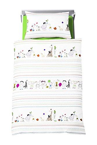 Dream Art Kids 143604 Biancheria da Letto per Bambini, Set da 2, Multicolore, 100x135 (2)