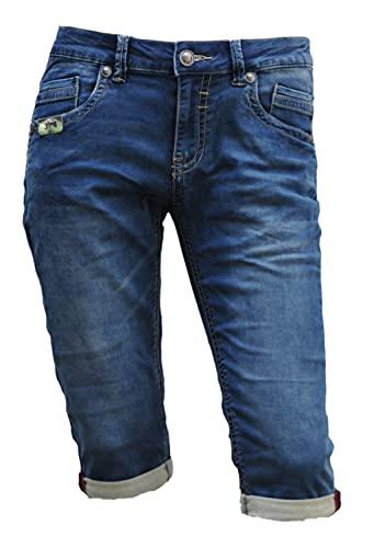 Blue Monkey Jeans Capri 3/4 Freddy Jogg Denim