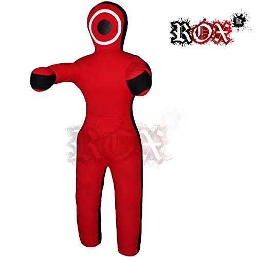 Grappling Dummy ROX Fit MMA manichino realistico Judo Punching bag stile brasiliano, JiuJitsu Grappling Dummy Borsa per allenamento – posizione dritto