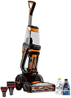 BISSELL ProHeat 2X Revolution Pet Full Size Upright Carpet Cleaner, 1548F, Orange