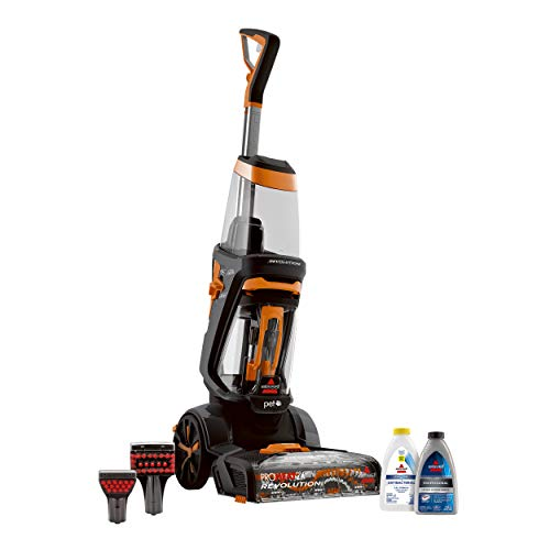 Sale!! BISSELL ProHeat 2X Revolution Pet Full Size Upright Carpet Cleaner, 1548F, Orange