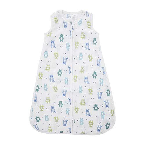 aden + anais essentials Gigoteuse légère pour bébé en mousseline 100% coton 1 TOG, Garçon & Fille, 0-6 mois, 75cm x 32cm, Largeur poitrine 32cm, Largeur...