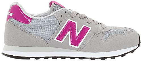 New Balance - Zapatillas de deporte para mujer, gris (gris claro), 36