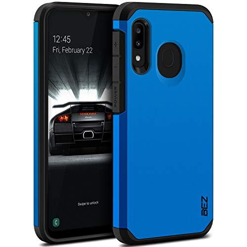 BEZ Handyhülle für Samsung Galaxy A20e Hülle, Tasche Stoßfestes Kompatibel für Samsung A20e, [Heavy Duty Serie] Outdoor Dual Layer Armor Hülle Handy Schutzhülle Robuste, Blaue Marine