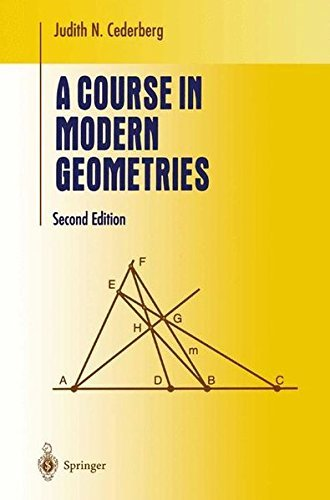 A Course in Modern Geometries (Undergraduate Texts in Mathematics) (English Edition)