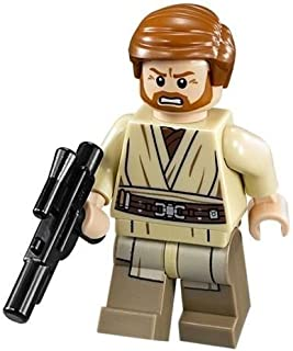 LEGO Star Wars Minifigure General Obi-Wan Kenobi with Blaster Gun (2014)