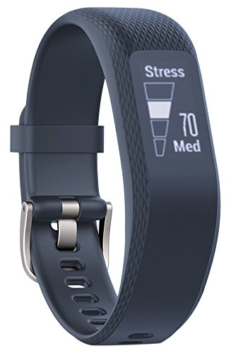 Garmin Vivosmart 3 Fitness Tracker con Sensore Cardio al Polso, Schermo Touch Invisibile e Smart Notification, Regular, Blu