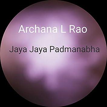 Jaya Jaya Padmanabha