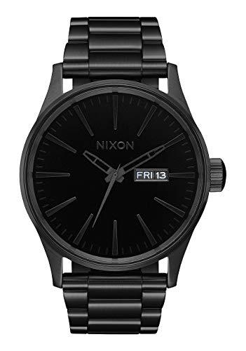 Nixon Armbanduhr Sentry Edelstahl All Black / Black