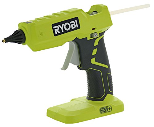 Ryobi P305 One+ 18V Lithium Ion Cordless Hot Glue Gun w/ 3 Multipurpose Glue Sticks (Battery Not...